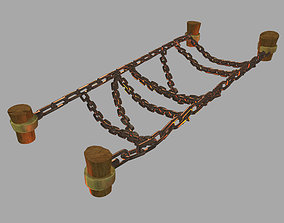 3D model Dynasty Lava Hell - Iron Chain Bridge 23