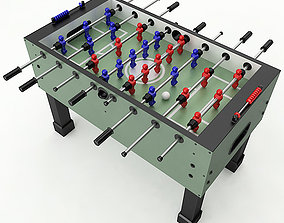 3D model Foosball Table foosball