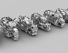 3D printable model End pieces for bracelets 2