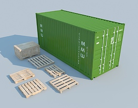 Container MAX 2011 3D model