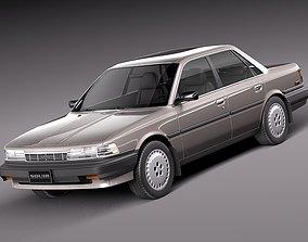 3D model Toyota Camry 1987-1991