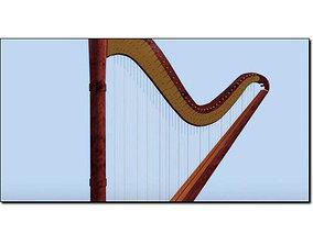 Harp Studio Max 3D model