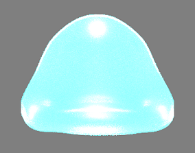 Slime - Animated 3D asset