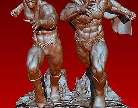 3D print model The great RACE Flash VS Superman