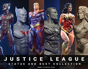 Justice League collectibles Statues and busts - 3D print