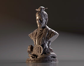 Bust of Liu Bei - Romance of the Three 3D printable model