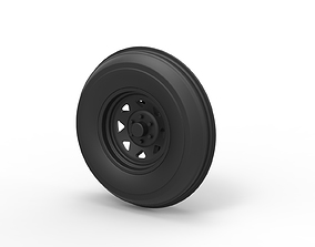 3D printable model Diecast Front wheel for Dune Buggy