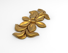 decorative pattern 3D futurism