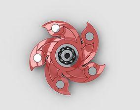 Flower spinner 3D model