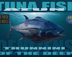 realtime Tuna 3D model