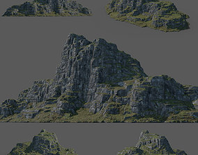 Green Mountain 3D model