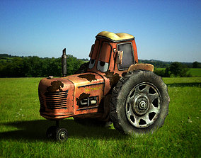 Tractor from Cars 3D model
