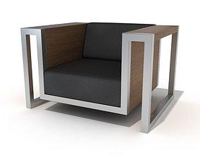Contemporary Chair Design 3D model