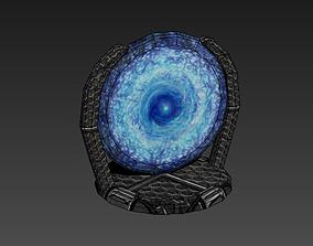 Portal - low poly 3D asset