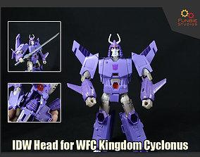 IDW Head for Transformers WFC Kingdom 3D printable model