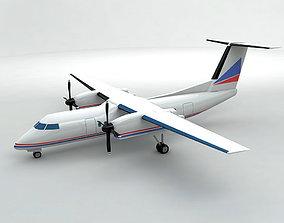 Bombardier Q-200 Airliner 3D asset