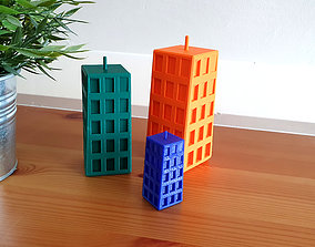 Twisted Building 3D