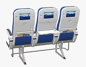 Airplane Chair V5 3D asset