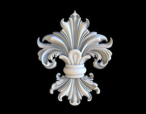 Royal Lily sculptures 3D print model