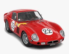 Ferrari 250 GTO - 3757GT - No Engine 3D model