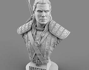 Witcher - Geralt of Rivia bust 3D printable model