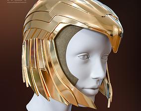 Wonder Woman 1984 Golden Eagle Helmet 3D printable model 1