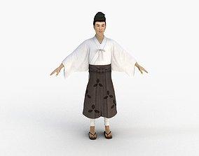 3D Kimono Man