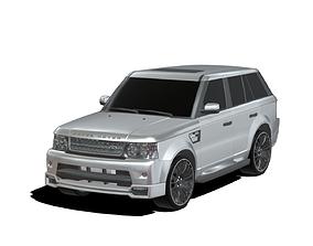3D Range Rover Sport 2012