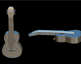 3D print model Guitar pendant acoustic