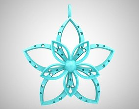 3D print model Catharanthus Necklace