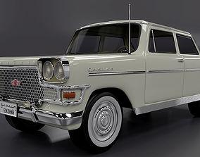 Devrim 1961 first car Turkey Republ 3D model