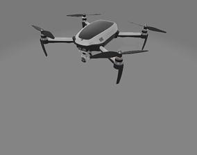 3D model scifi-rigged-drone2