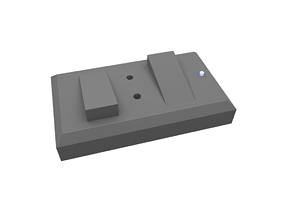 Electric switch 3D printable model