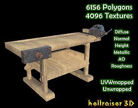 3D model Workbench - Textured