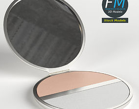 3D model PBR Makeup pocket powder