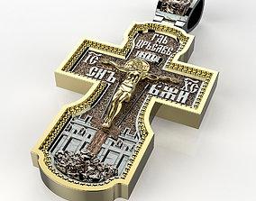 cross Jesus 3D printable model
