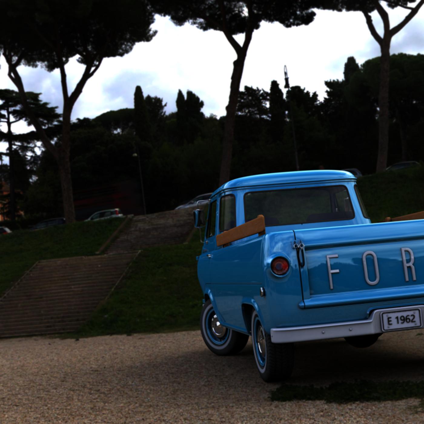 FORD ECONOLINE E100 PICKUP 1962