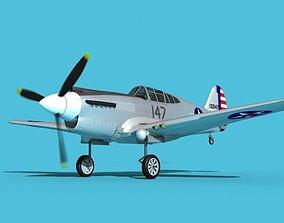 Curtiss P-40B Warhawk V11 USAAF 3D
