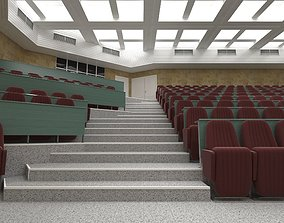 3D Auditorium Lecture Room