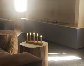 3D asset STRALA Led Candlestick