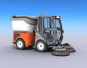 Street Sweeper 3D model