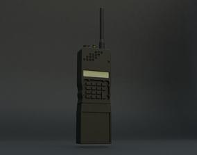 communication radio 3D model