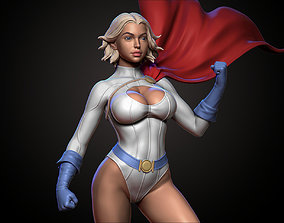 3D printable model power Power Girl