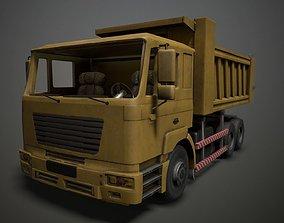 3D model Tipper Dump Truck