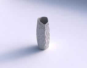 3D print model Vase arc hexagon with bubbles