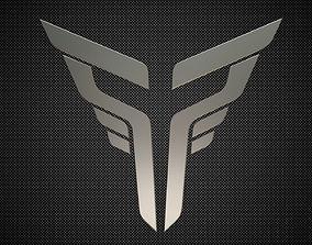thor logo 3D model