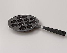 Takoyaki Pan 3D
