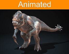 Creature Pangolin 3D model