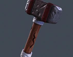 3D model realtime Hammer military