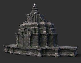 Ruin Ancient Temple - Khmer Architecture B 12 3D model